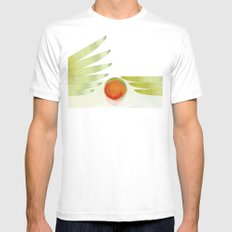 green 2   digital sessions White Mens Fitted Tee SMALL