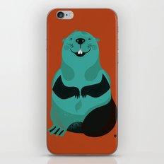 Beaver iPhone & iPod Skin