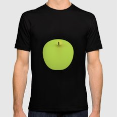 Apple 08 Mens Fitted Tee SMALL Black
