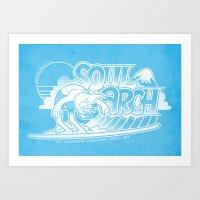 Soul Arch Art Print