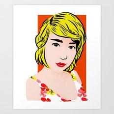 popart  Art Print