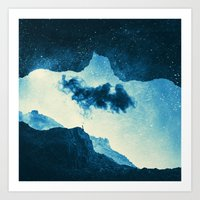 Spaces IX - Imaginary World Art Print