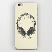 Art Headphones V2 iPhone & iPod Skin
