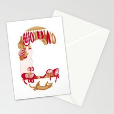 C as Charcutière (Pork butcher) Stationery Cards