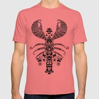 17th Century Lobster Mens Fitted Tee Pomegranate SMALL