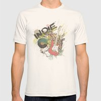 It's Indie Rock'n'Roll Mens Fitted Tee Natural SMALL