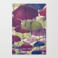 Why Does It Always Rain … Canvas Print