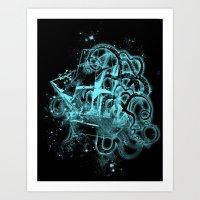 Flying Dutchman Ghost Sh… Art Print