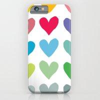 Heart pattern art  iPhone 6 Slim Case