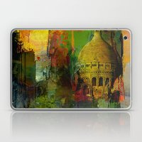 In a street of Paris Laptop & iPad Skin