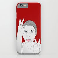 iPhone & iPod Case featuring V's by VikaValter
