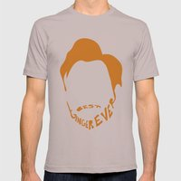 Best Ginger Ever. Mens Fitted Tee Cinder SMALL