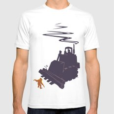 The Last Stand Mens Fitted Tee White SMALL