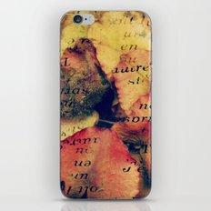 Waterlily Leaves - JUSTART © iPhone & iPod Skin