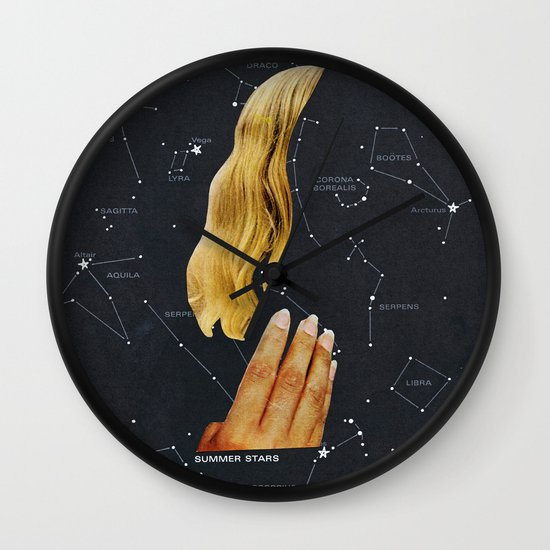 SUMMER STARS Wall Clock
