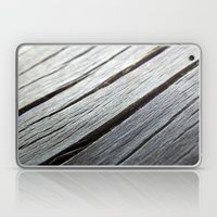 Rustic Wooden Floor (gre… Laptop & iPad Skin