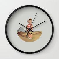 Sandcastles Wall Clock
