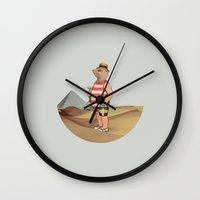 Sandcastles Wall Clock