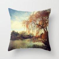 Pond 2 Throw Pillow