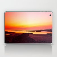Sun Setting Over Irvine  Laptop & iPad Skin