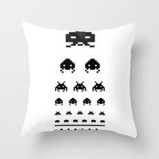 Gamers eye test Throw Pillow
