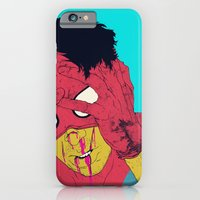 iPhone Cases featuring Thudd! by boneface