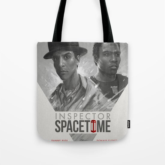 Inspector Spacetime  Tote Bag