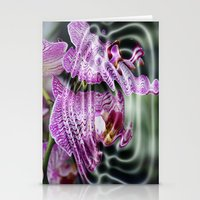 Sunken Orchids Stationery Cards