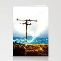 Power Baby, Power by D. Porter Stationery Cards