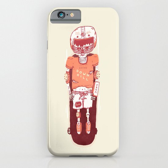 It's All Going Downhill From Here iPhone & iPod Case
