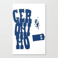 Geronimo Doctor Who Canvas Print