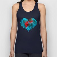 Two Hearts Unisex Tank Top