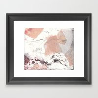 Traces (II) Framed Art Print