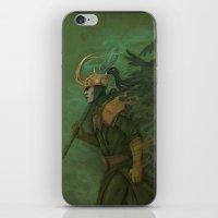 Loki iPhone & iPod Skin