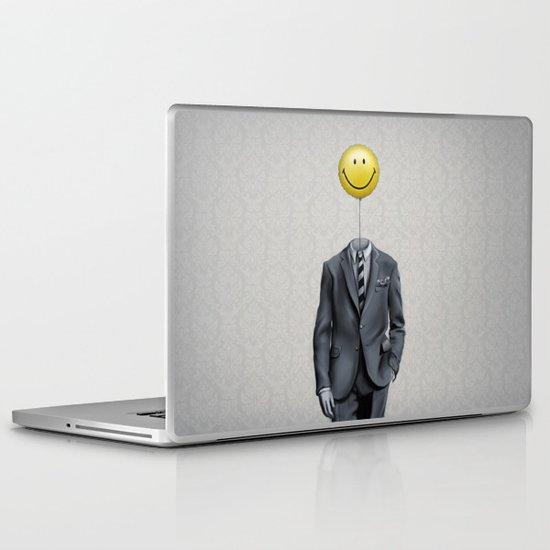 Mr. Smiley :) Laptop & iPad Skin