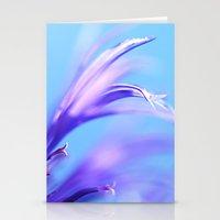 flower dance III Stationery Cards