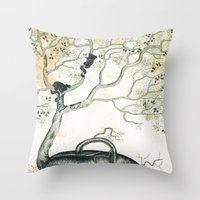The Seed Throw Pillow