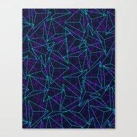Abstract Geometric 3D Tr… Canvas Print