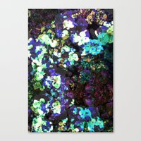 FLORAL WATERS Canvas Print