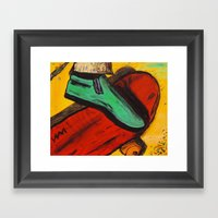 The Ride! Framed Art Print