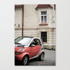 Red car in Marienbad Canvas Print