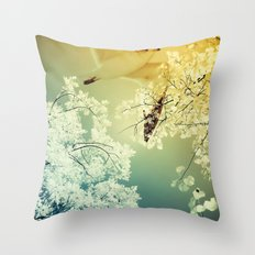 Connections. Throw Pillow