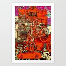 Toronto bicycle dreams Art Print