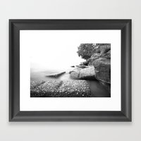 Smooth And Sharp Edge Framed Art Print