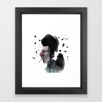 Mr. Tom Framed Art Print