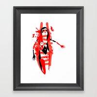 Run - Emilie Record Framed Art Print
