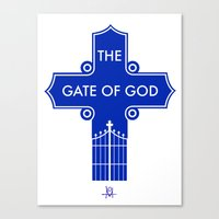 The Gate Of God Canvas Print