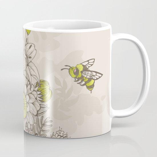 Beauty (eye of the beholder) - cream version Mug