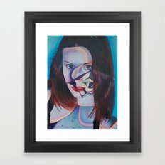 Echeveria Painted Lady Framed Art Print