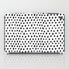 Polka dot rain iPad Case